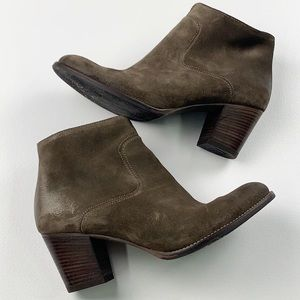 Paul Green Reese Suede Ankle Bootie